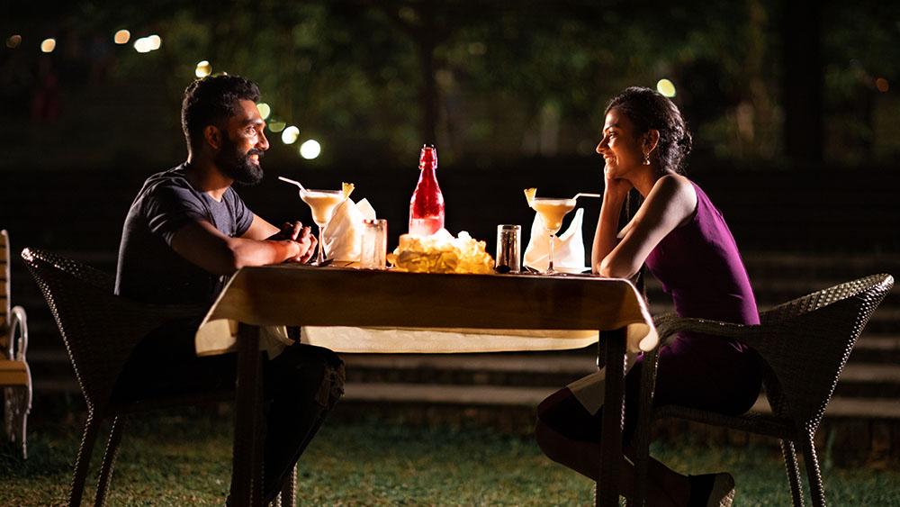 Couple Dining Morickap Resort