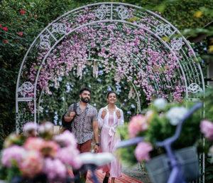 Honeymoon Couple in Morickap Reosrt